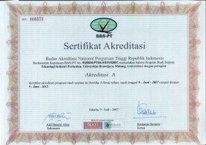 akreditasi TIP BAN_PT